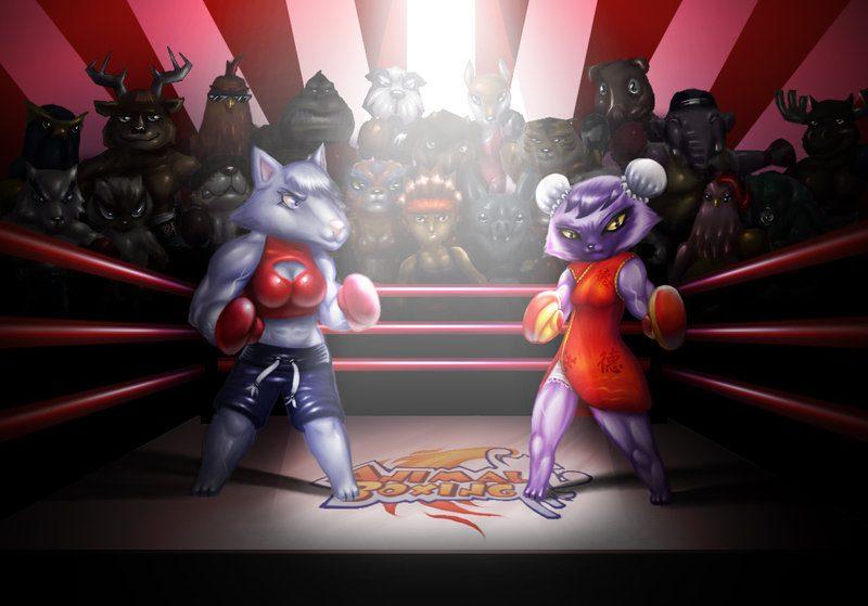 animal boxing game dx