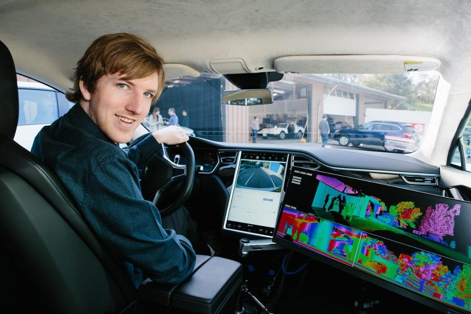 austin russell luminar bringing safety to self driving cars 2017 images