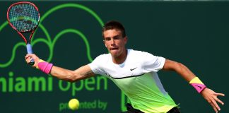 borna coric spread open bulge tennis games