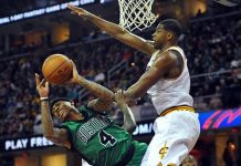 boston celtics keeping lead on cleveland cavaliers 2017 images