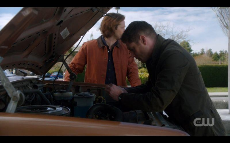 dean winchester fixing truck with sam future supernatural
