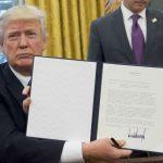 donald trump bill signer
