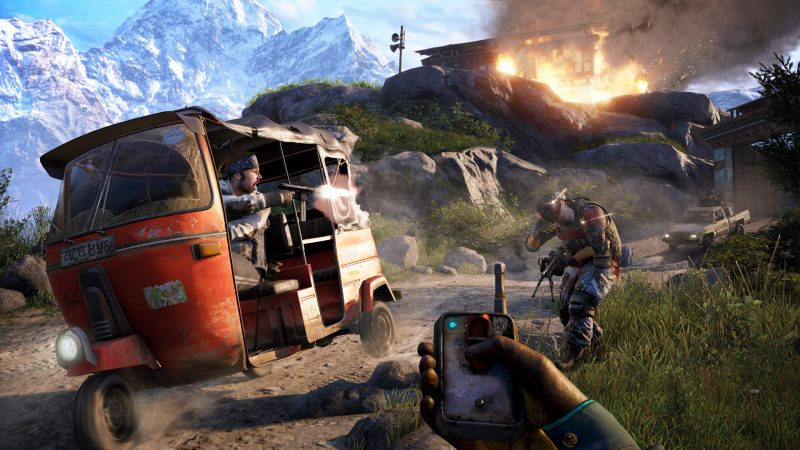 far cry 4 ps 4 game reviews