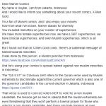 haykal marvel diversity anti semitism complaint