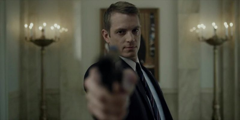 house of cards joel kinnaman gun 46