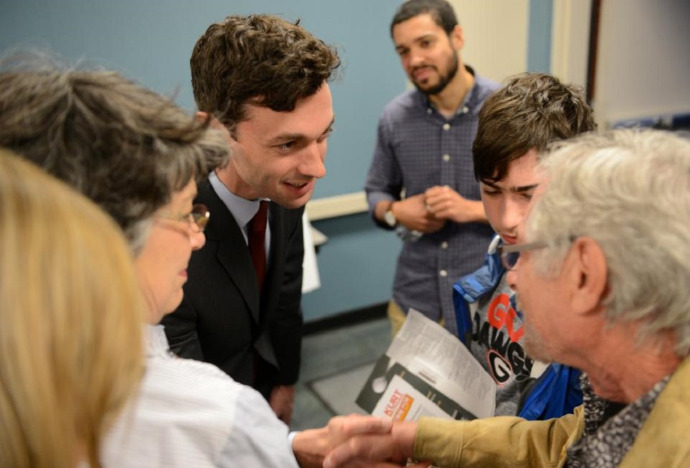 Jon Ossoff seems to be making Donald Trump nervous 2017 images