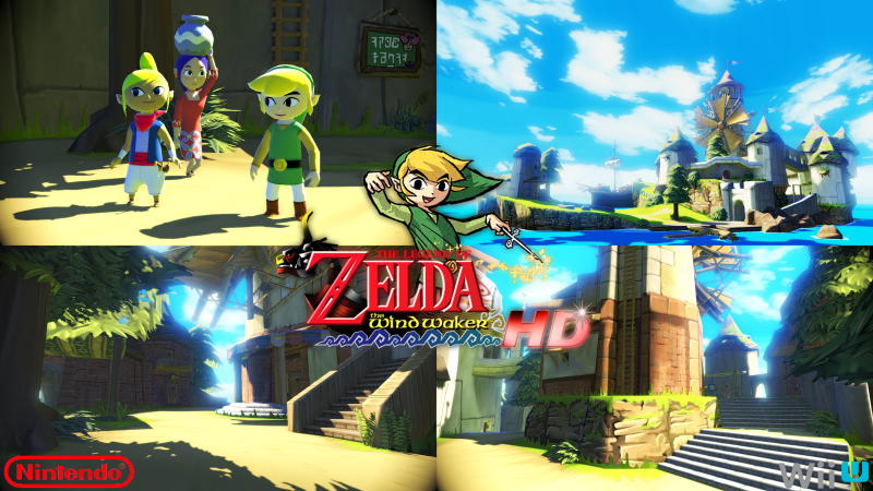 legend of zelda wind waker hd games wii u 2017