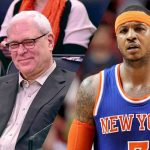 phil jackson pulls welcome mat out from under carmelo anthony 2017 images