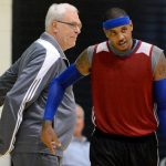 phil jackson really done with carmelo anthony for knicks