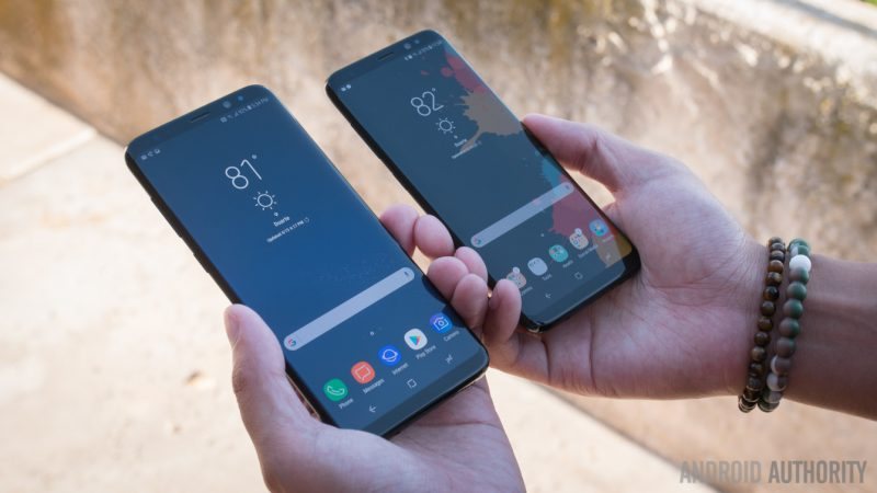samsung galaxy s8 and s8 plus sizes