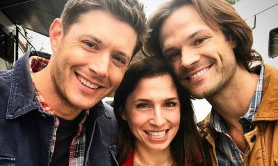 shoshannah with jared jensen ackles supernatural interview