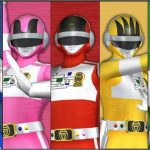 super sentai rainbow colors