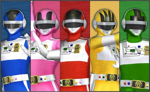 super sentai power rangers show 2017