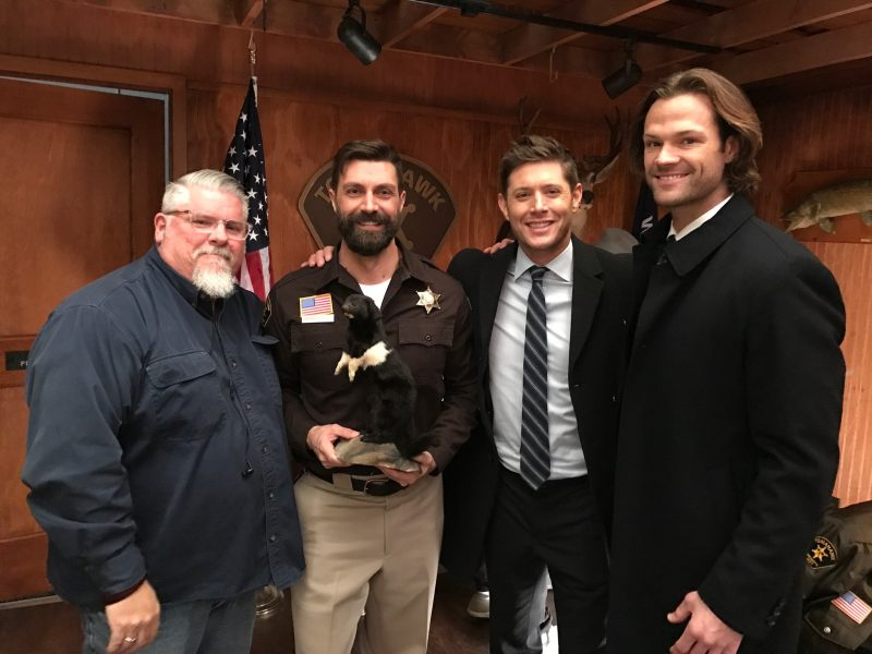 superantural phil with jensen ackles jared padalecki