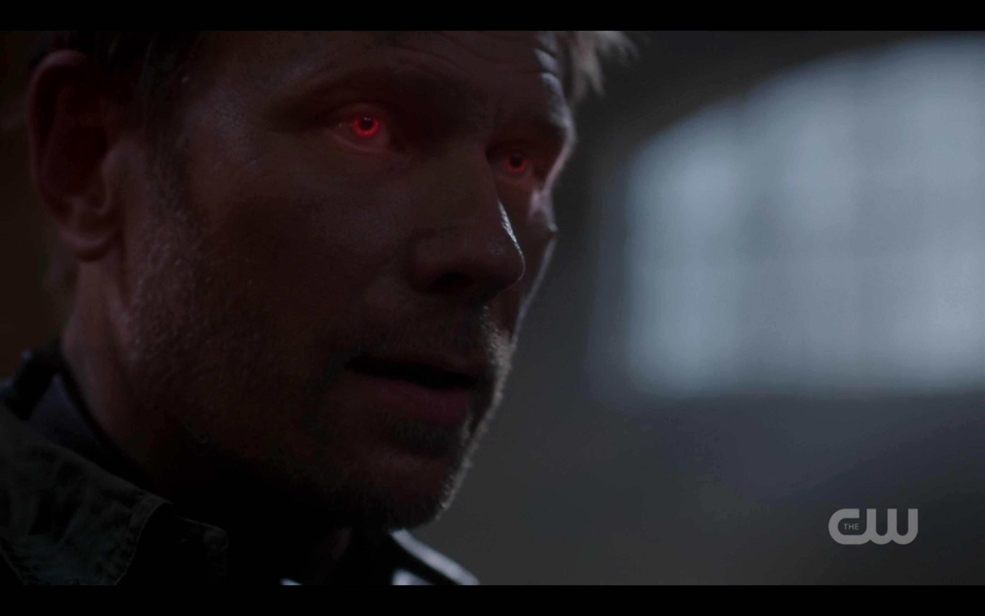 supernatural british invasion lucifer red eyes - Movie TV ...