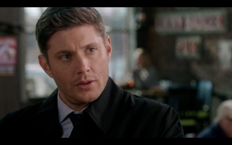 supernatural dean winchester at diner ladies drink free
