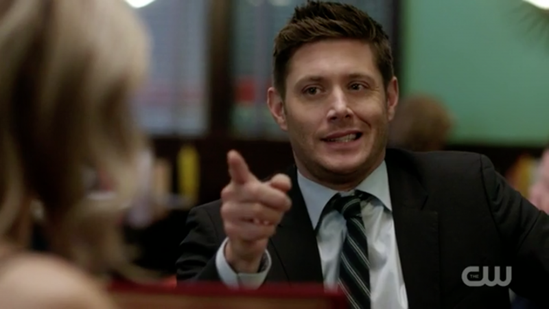 supernatural dean winchester cute flirty memory remains