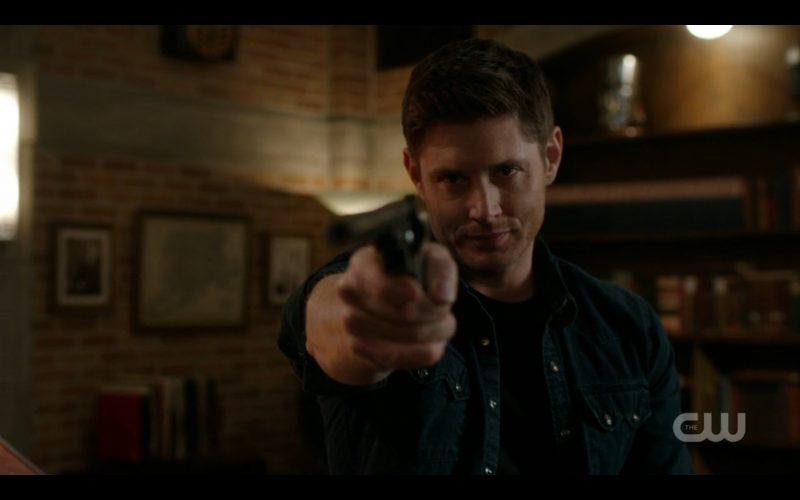 supernatural dean winchester firing colt out