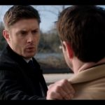 supernatural dean wincheter shoulder grab on mick