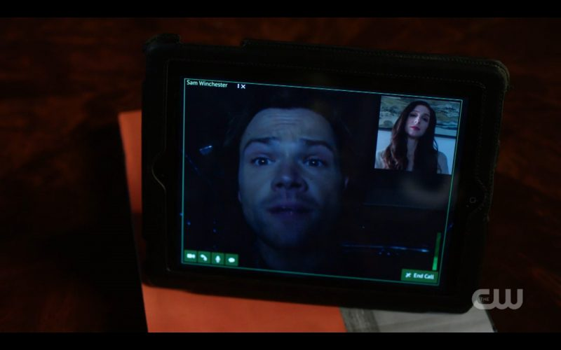 supernatural eileen shoshonnah with jared padalecki screen