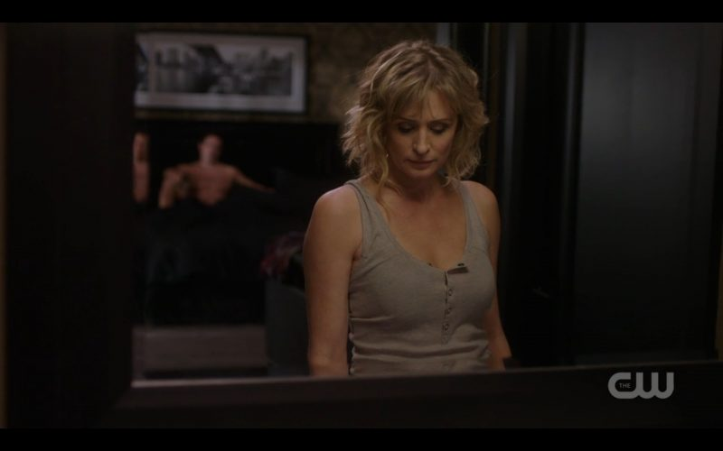 supernatural mary winchester with shirtless ketch man
