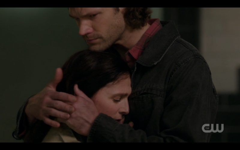 supernatural sam winchester hugging eileen shoshannah stern