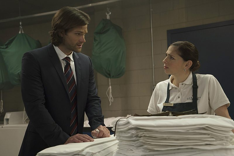 supernatural sam winchester with shoshannah stern interview