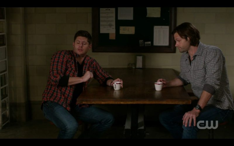 supernatural winchester brothers demitasse cups