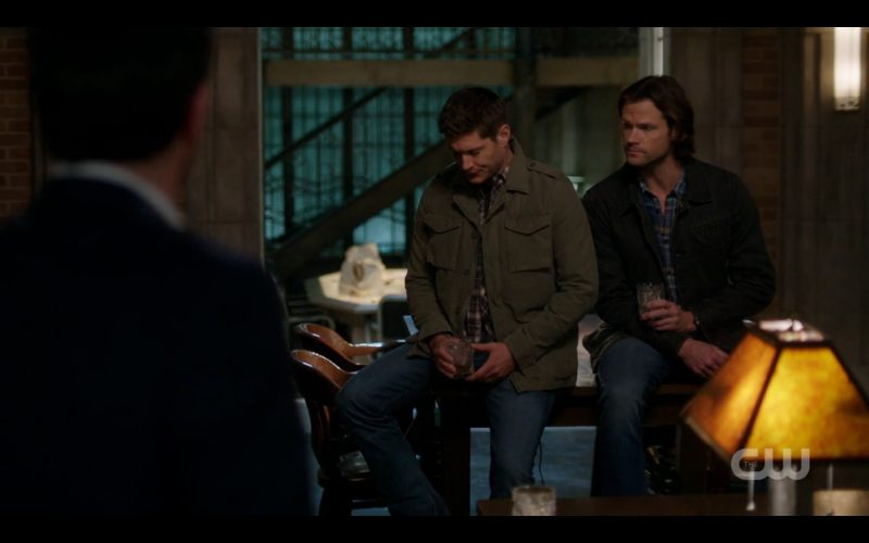 supernatural winchester brothers sitting table