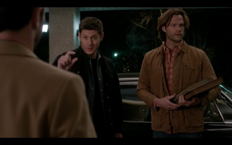 supoernatural dean sam winchester tiny shampoo talk ladies drink free