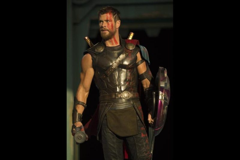 thor chris hemsworth ragnorak