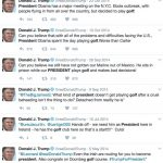 trump complaining about obama golding