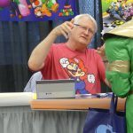 Charles Martinet signing mario northern fancon movie tv tech geeks
