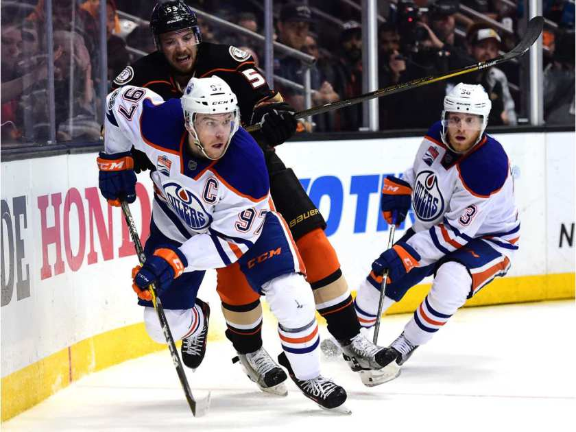 Ducks beat Oilers to reach NHL West finals