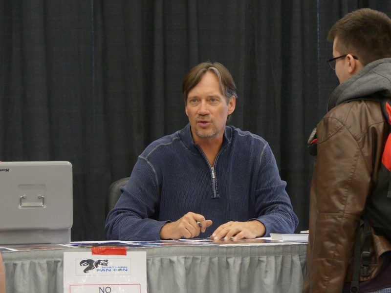 Kevin Sorbo signing northern fancon movie tv tech geeks