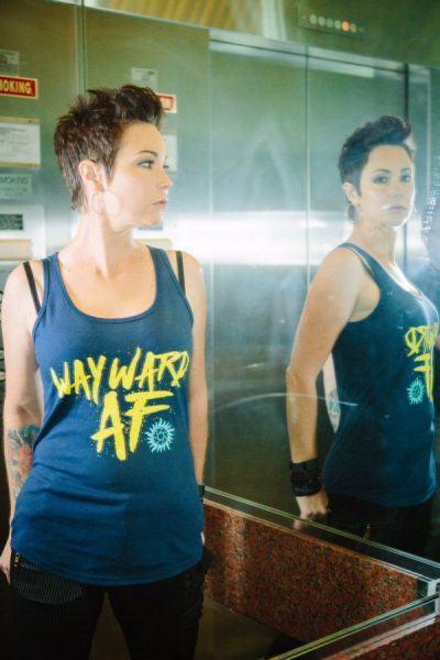 Kim Rhodes Briana Buckmaster supernatural movie tv tech geeks 600x901