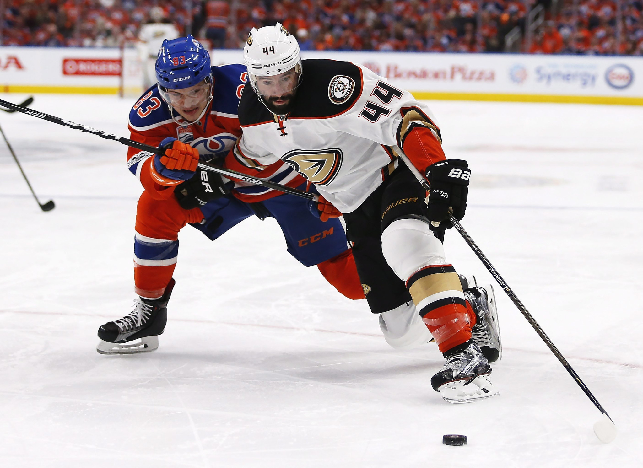 edmonton oilers lose to anaheim ducks with ryan getzlaf