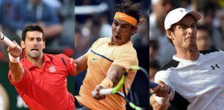 Rafael Nadal, Novak Djokovic pressuring Andy Murray for No. 1 ranking 2017
