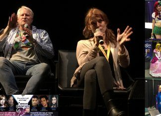 alicia witt and charles martinet panel talk fancon 2017alicia witt and charles martinet panel talk fancon 2017