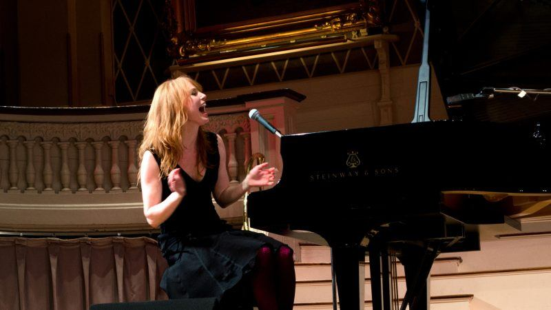 alicia witt on piano northern fancon 2017