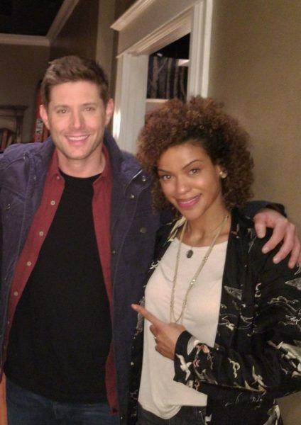 alvina august with jensen ackles supernatural movie tv tech geeks