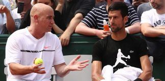 andre agassi coaching novak djokovic at french open