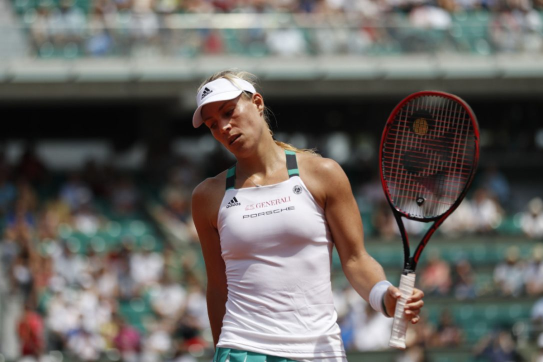 Upset! Kerber 1st French Open top seed to lose in 1st round