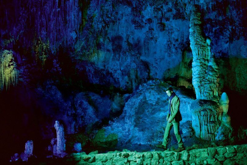brad pitt carlsbad caverns interview