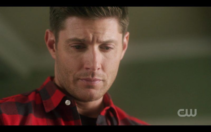 dean winchester looking down for sam bulge in past who we are