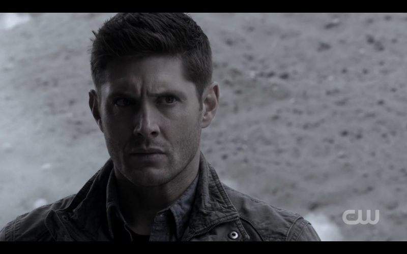 dean winchester with bobby supernatural alt world