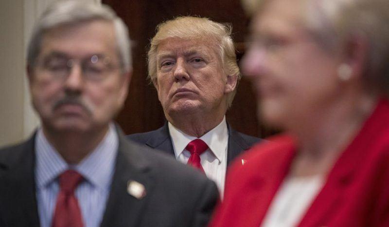 donald trump biggest loser on spending bill