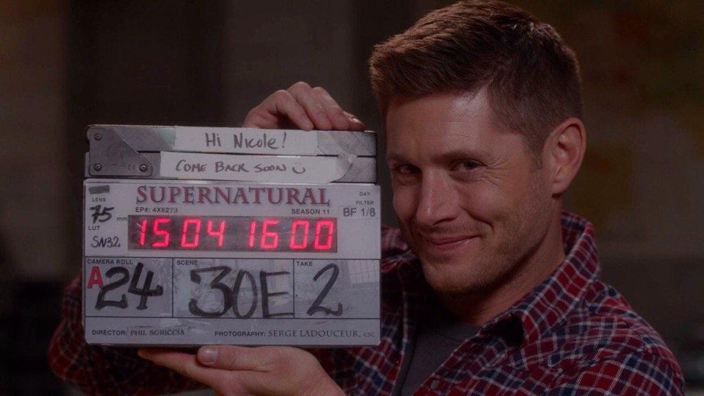 richard speight jr directing jensen ackles supernatural movie tv tech geeks