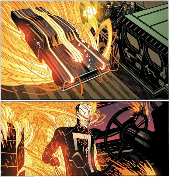 ghost rider agents of shield johnny blaze satanist serial killer comics