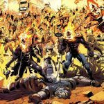 ghost rider defeats anti christ comics marvel